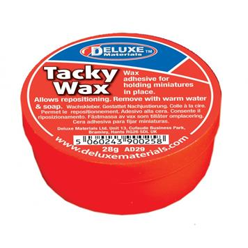 Deluxe Materials AD-29 Tacky Wax Figure Glue