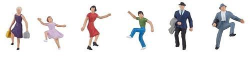 Faller 150936 Ascending the Stairs Figure Set (Pack of 6) OO/HO