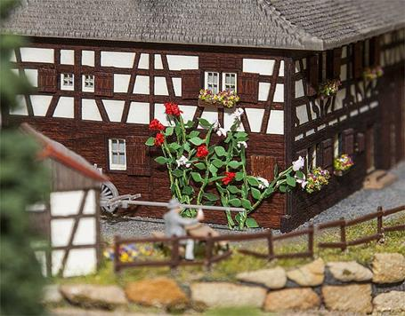 Faller 181268 Climbing Roses (Pack Of Six) OO/HO Scale