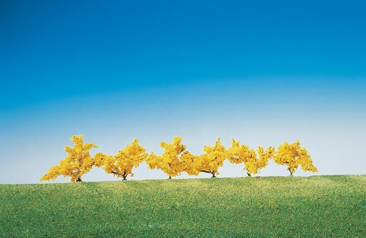 Faller 181475 Forsythias Yellow (Pack of 6) OO/HO