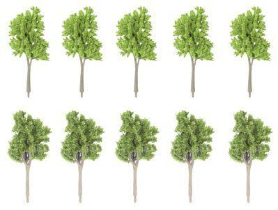 Gaugemaster GM127 Spring/Summer Trees (Pack of 10) OO/N/TT