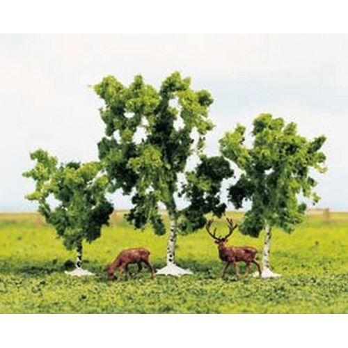 Gaugemaster GM184 Birch Trees (Pack of 3) OO/HO/N/TT