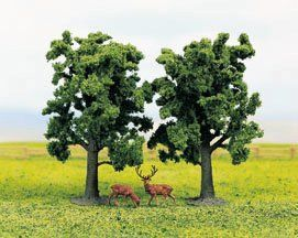 Gaugemaster GM188 Beech Trees (Pack of 2) OO/HO/N/TT