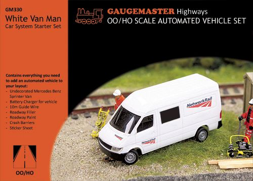 Gaugemaster GM330 White Van - Car System Starter Set