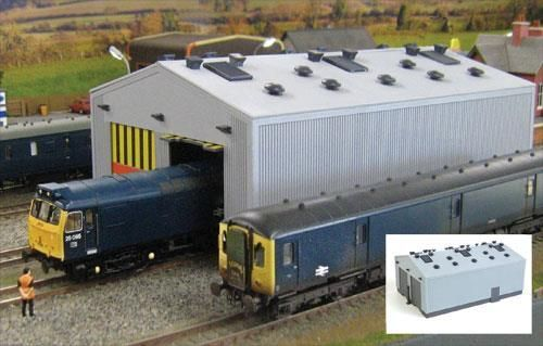 Gaugemaster GM406 Fordhampton Locomotive Depot Plastic Kit OO/4mm