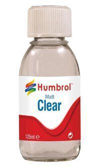 Humbrol (Acrylic) AC7434 Clear Varnish Matt (125ml)