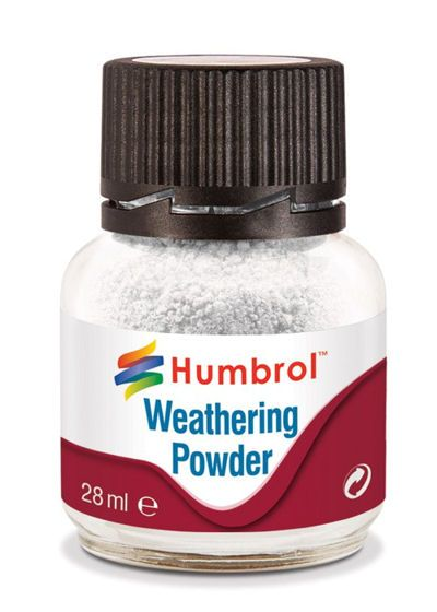 Humbrol AV0002 White Weathering Powder (28ml)