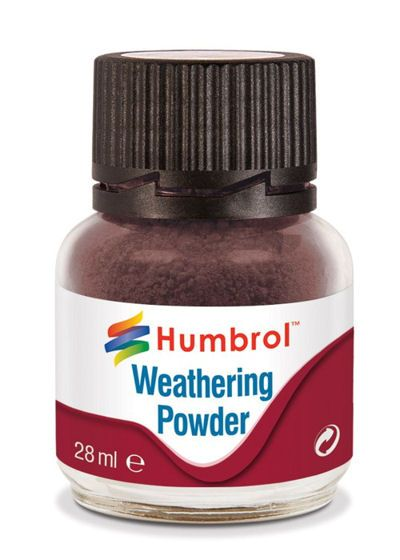 Humbrol AV0007 Dark Earth Weathering Powder (28ml)