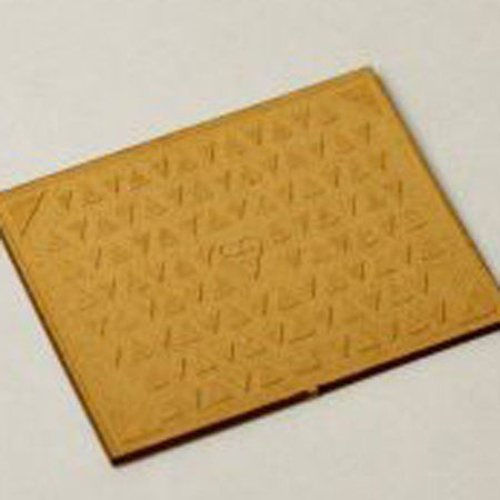 LX069-24 Laser Cut Rectangular Manholes 1:24
