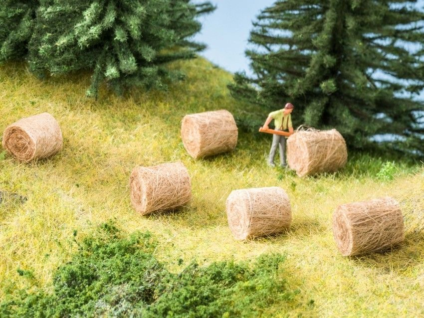Noch 07460 Round Hay Bales - Pack of 18