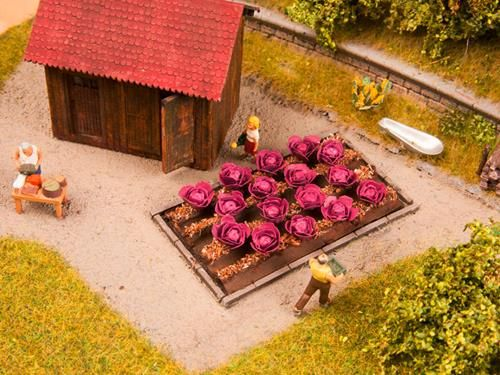 Noch 13218 Red Cabbages (Pack of16) Deco Minis