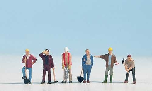 Noch 15110 Construction Workers (Pack of 6)