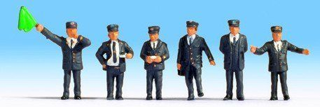 Noch 15271 British Railway Staff (Pack of 6) OO/HO