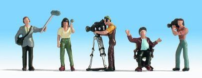 Noch 15573 Camera Crew (Pack of 5) OO/HO