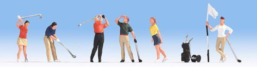 Noch 15885 Golfers (Pack of 6) OO/HO