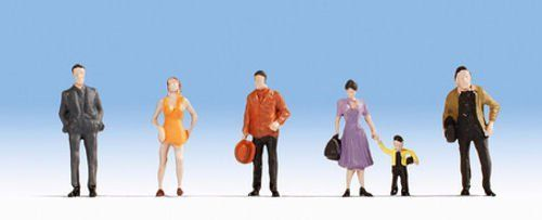 Noch 18101 Hobby Series Pedestrians (Pack of 6) OO/HO