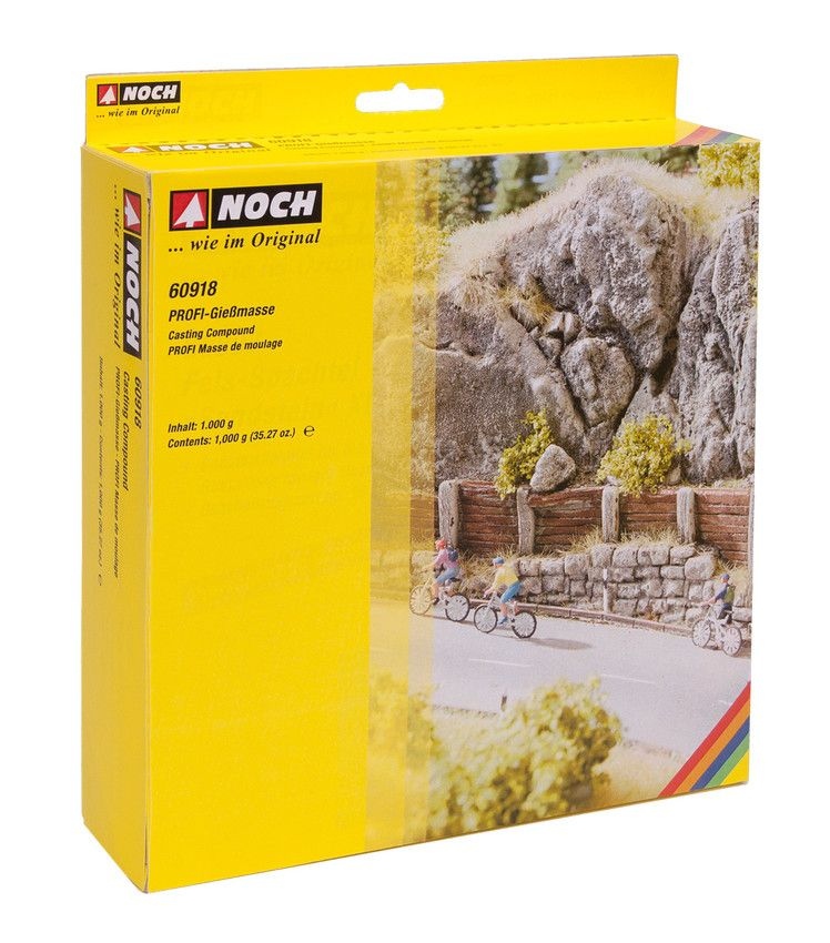 Noch 60918 Profi Casting Compound For Rocks & Cliffs - Z / N / TT / HO / OO