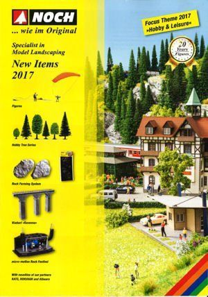 Noch 71732 Noch New Items Leaflet 2017