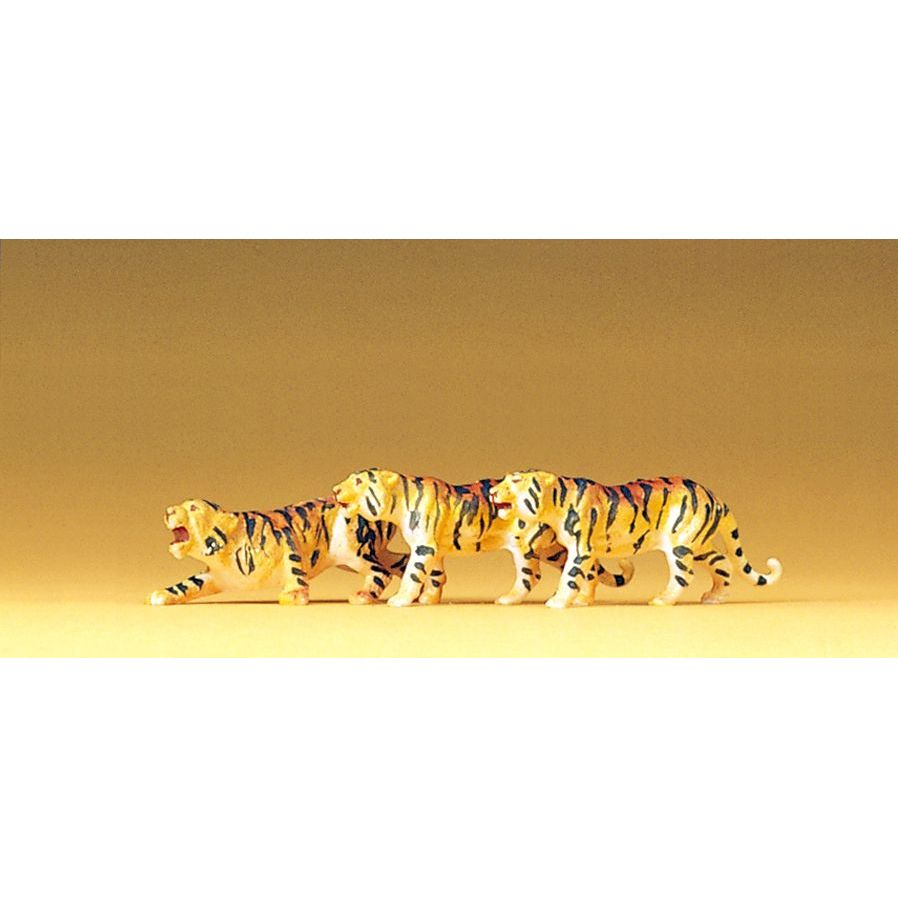 Preiser 20380 Tigers (Pack of 3) OO/HO
