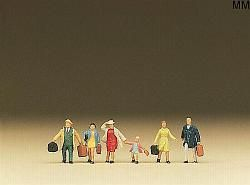 Preiser PR79025 Family on a journey N 1:148