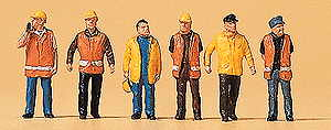 Preiser PR79154 Workers in protective clothing N 1:148