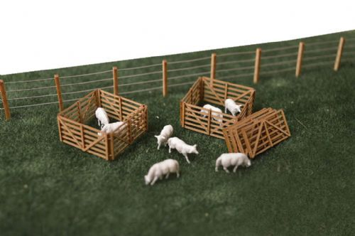 SMS-BP4 Farmyard Pack - (OO/HO Scale)