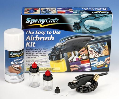 Spraycraft SP10K Easy to Use Airbrush Kit