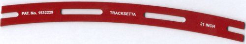 TAOOT21 Tracksetta Curved Track Laying Tool 21/533mm Radius (For OO/HO Track)