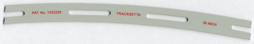 TAOOT30 Tracksetta Curved Track Laying Tool 30/762mm Radius (For OO/HO Track)