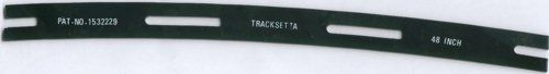 TAOOT48 Tracksetta Curved Track Laying Tool 48/1219mm Radius (For OO/HO Track)
