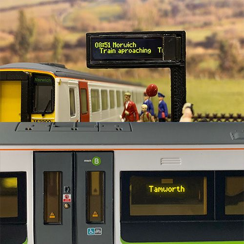 Train Tech SD1 Smart Screen (TTSD1)- Single Pack