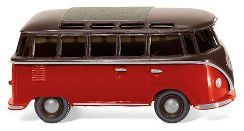 Wiking 031704 VW T1 Samba Bus (Brown-Red)