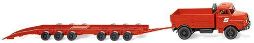 Wiking 059002 MAN Culemeyer OBB Wagon Carrying Trailer