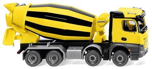 Wiking 068149 MB Arocs/Liebherr Cement Mixer