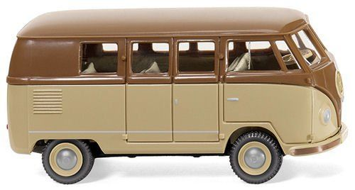 Wiking 078802 VW T1 Type 2 Van (Beige-Brown)