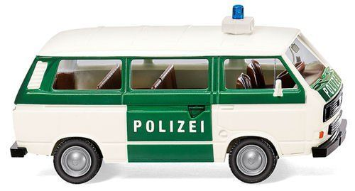 Wiking 086440 VW T3 Bus Police (Germany) livery